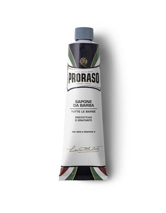 Proraso: Blue Shaving Cream Tube - Protect & Moisturise (150ml)
