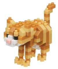 nanoblock: Cats Series - Tabby Cat