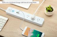 Smart Ape: 3 Outlet Surge Protector WiFi Power Strip