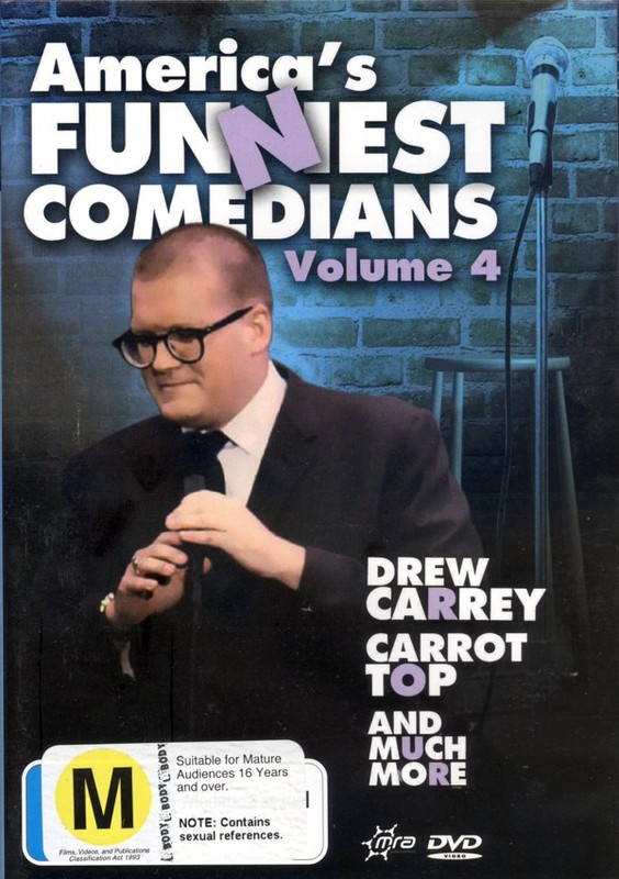 America's Funniest Comedians - Vol. 4 on DVD