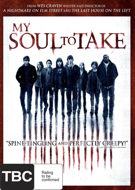 My Soul to Take on DVD