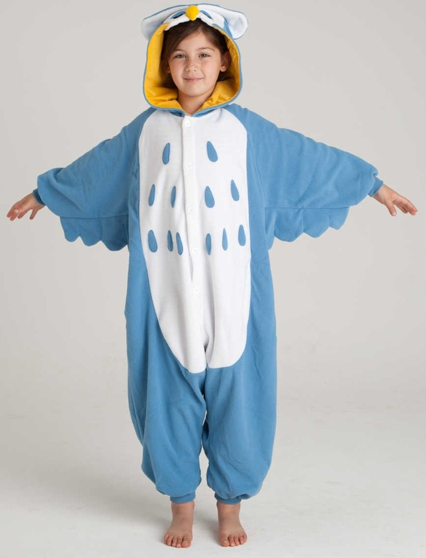 219cd85f Owl Kigurumi Kids Onesie (Large) | Boy's | at Mighty Ape Australia