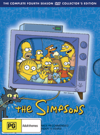 The Simpsons - The Complete Fourth Season on DVD