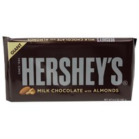 Hershey's Giant Milk Chocolate Bar: Almond (192g)