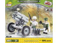 Cobi: World War 2 - 15 cm Nebelwerfer 41
