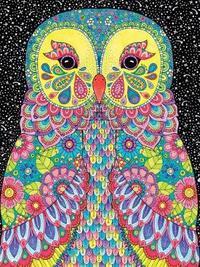 Hello Angel Lined Journal Owl by Angelea Van Dam