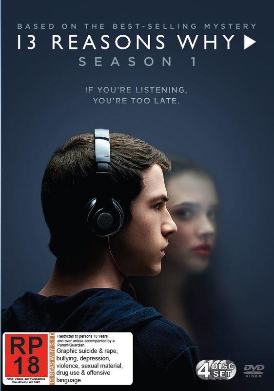 13 Reasons Why - Season 1 on DVD