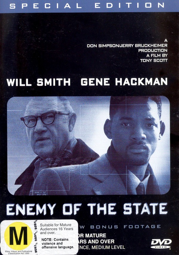 Enemy of the State on DVD image