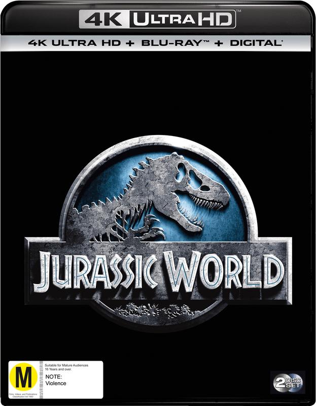 Jurassic World on UHD Blu-ray