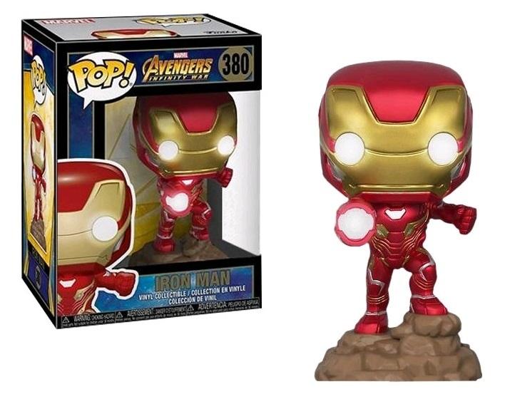 Avengers: Infinity War - Iron Man (Light-Up Ver.) Pop! Vinyl Figure image