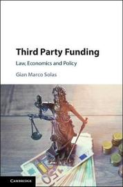 Third Party Funding by Gian Marco Solas