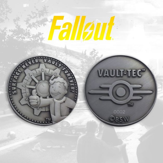 Fallout: Collectable Coin - Vault-Tec
