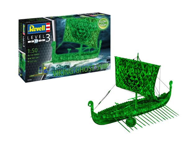 Revell: Viking Ghost Ship - 1:50 Scale Model Kit