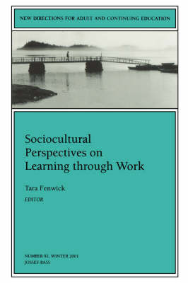 Sociocultural Perspectives on Learning Through Work image