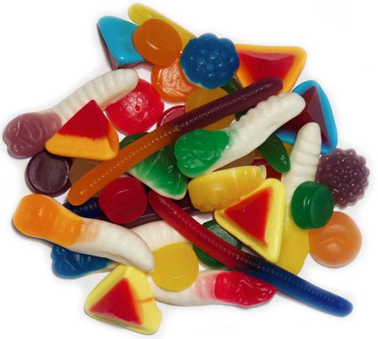 Gummi Mix 1kg - Rainbow Confectionery image