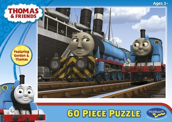 Holdson: 60pce Puzzles - Thomas Gordon & Thomas