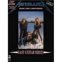 Metallica: Ride the Lightning: Easy Guitar and Vocal image