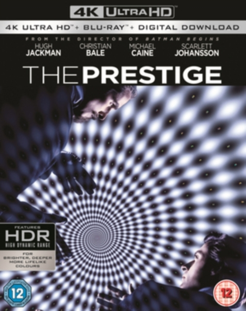 The Prestige on Blu-ray, UHD Blu-ray