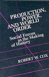 Production Power and World Order by Robert W. Cox image