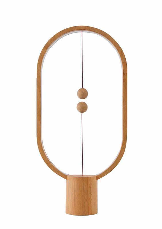 Allocacoc: Heng Balance Lamp - Ellipse (Wood)