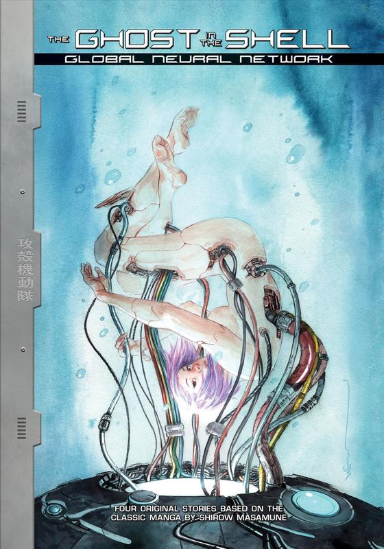 Ghost In The Shell: Global Neural Network by Alex De Campi