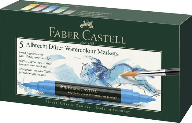 Faber-Castell: Albrecht Durer Watercolour Markers - Wallet of 5