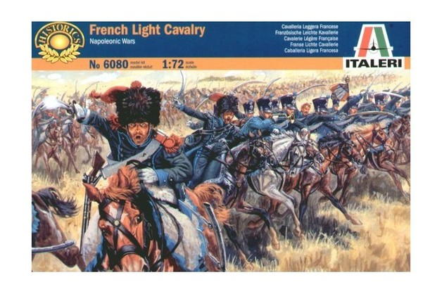 Italeri French Light Cavalry (Napoleonic Wars) 1:72 Model Kit