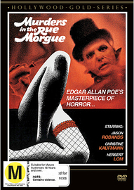 Murders in the Rue Morgue on DVD