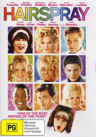 Hairspray (2007) on DVD