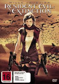 Resident Evil: Extinction on DVD