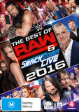 WWE: Best Of Raw & Smackdown 2016 on DVD