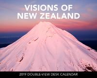 Visions of New Zealand 2019 Desk Calendar
