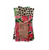 Beeswax Wraps Reusable Food Wrap - Mixed