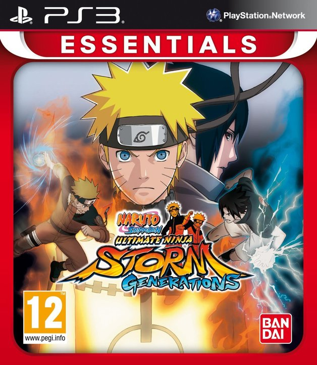 Naruto Shippuden: Ultimate Ninja Storm Generations (PS3 Essentials) for PS3