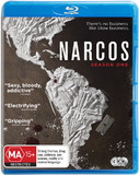 Narcos Season One on Blu-ray