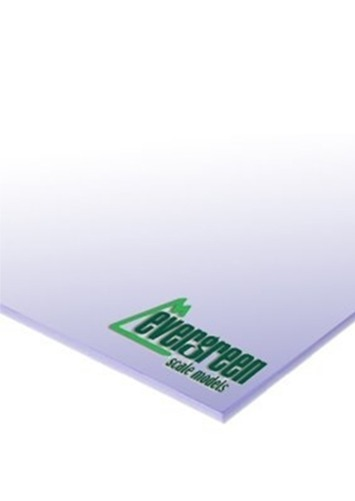 Evergreen Styrene White Sheet 1mm (2pk)