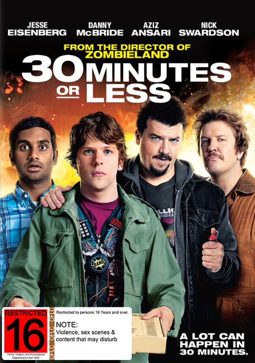 30 Minutes Or Less on DVD image