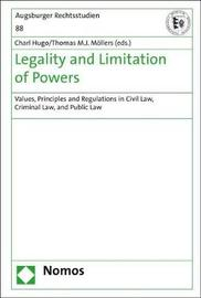 Legality and Limitation of Powers image