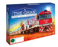 The Ghan: The Full Journey Collector's Edition on DVD