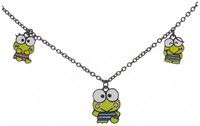 Keroppi Multi Charm Necklace