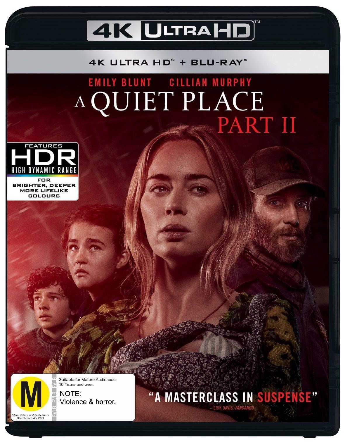A Quiet Place Part II (4K UHD) image