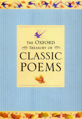 The Oxford Treasury of Classic Poems by Michael Harrison image