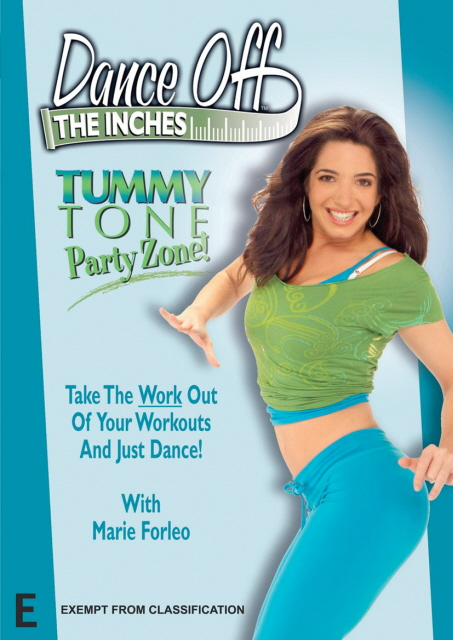 Dance Off The Inches - Tummy Tone Party Zone! - DVD