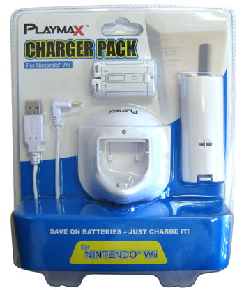 Playmax Wiimote Docking Charger for Nintendo Wii