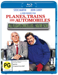 Planes, Trains and Automobiles on Blu-ray