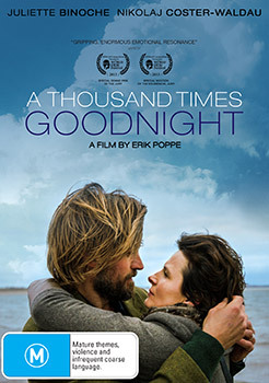 A Thousand Times Goodnight on DVD