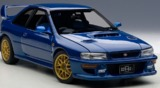Autoart: 1/18 Subaru Impreza 22B STi Version (Blue) (Upgraded Version)