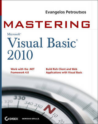 Mastering Microsoft Visual Basic 2010 by Evangelos Petroutsos image