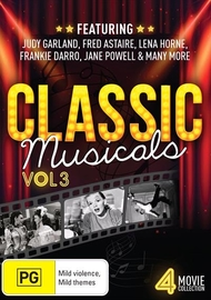 Classic Musicals - Volume 3 on DVD
