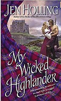 My Wicked Highlander by Jen Holling image